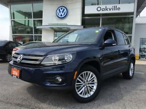 2016 Volkswagen Tiguan Special Edition AWD Navi Back Up Cam Blue
