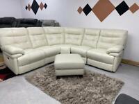 Brand new electric recliner corner sofa