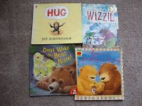 10 LARGE BOOKS FOR YOUNG CHILDREN