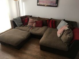 DFS L Shaped Corner Sofa £200 ONO