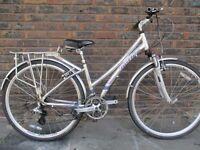 Ladies Hybrid Town bike
