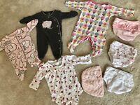 Baby Girls Clothes-Newborn size