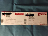 2x Ricky Gervais Humanity Tickets for The Playhouse, Edinburgh 8th June 2017