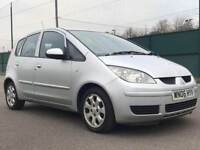 2006 MITSUBISHI COLT 1.1*5DR * PETROL * LOW MILEAGE * MOT * P/X * DELIVERY not yaris micra polo