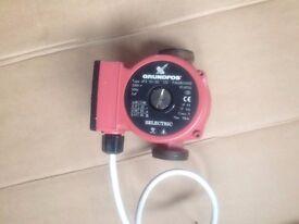 central heating water pump Grundfos 3 speed