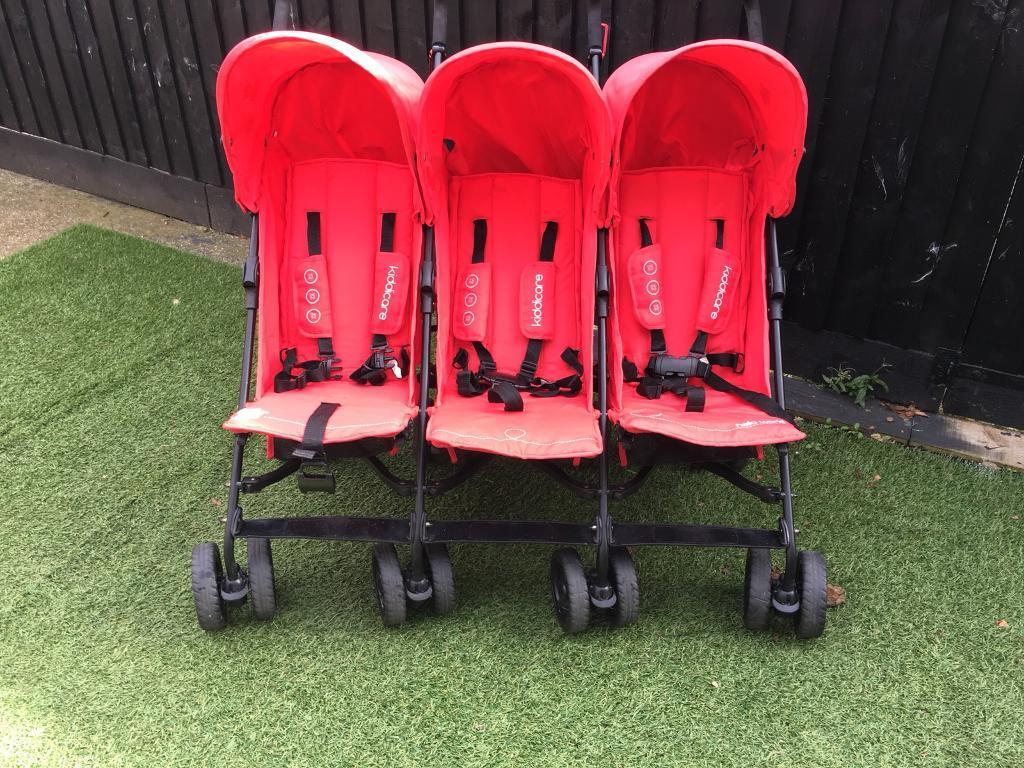 Triple buggy immaculate condition