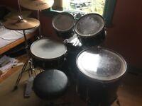 Pearl Export 5 Piece Drum Kit with Zildjian ZBT Cymbals