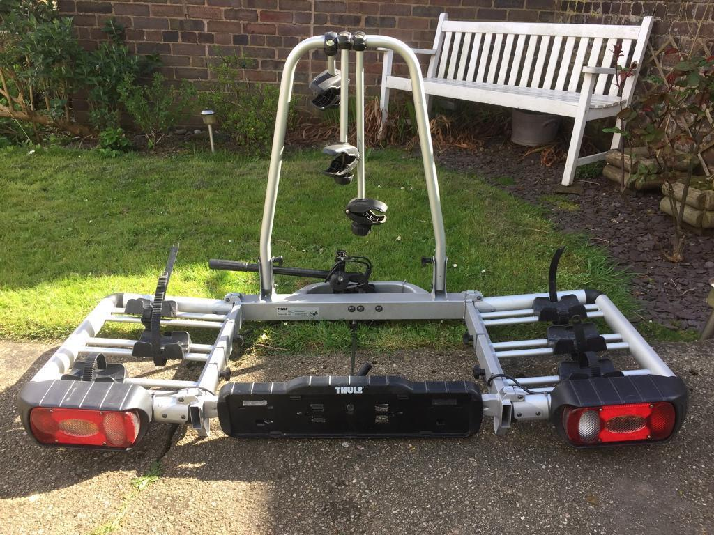 thule euroclassic pro 902 903 3 bike tow bar mounting bike. Black Bedroom Furniture Sets. Home Design Ideas