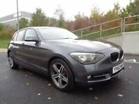 2012 BMW 1 SERIES SPORT 116D MANUAL DIESEL, PERFECT RUNNER, 3 MONTHS WARRANTY, HPI CLEAR