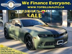 2014 Chevrolet Camaro 2LT RS Package, Navigation, Sunroof, Only