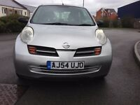 Nissan micra 1.2L 16V S 5dr with very low mileage, 12 months MOT ,full service history for sale