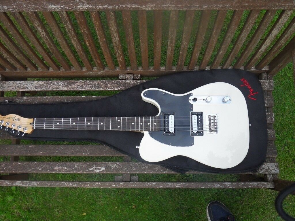 Fender Telecaster Hh With Holy Diver Bare Knuckle Pickups In
