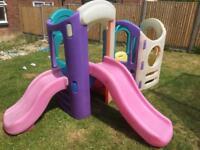 Little tikes 8 in 1 playground.