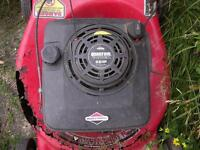 2 WORKING LAWNMOWERS FOR PARTS