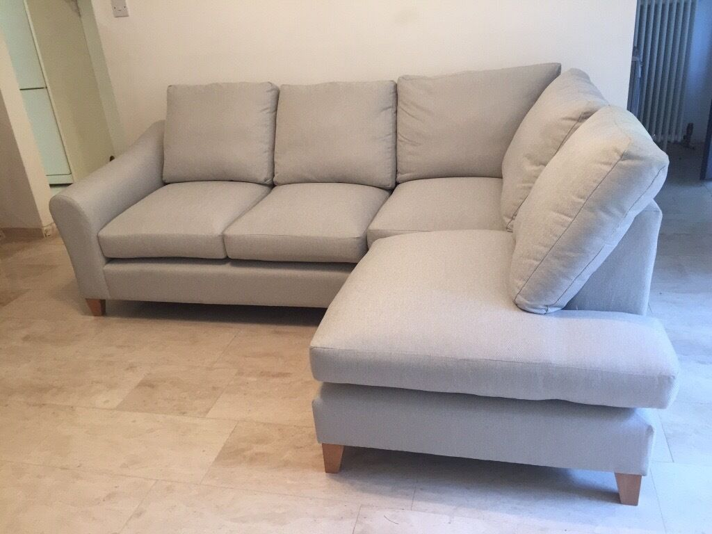 Laura Ashley Corner Sofa Brand New Baslow Fabric Right