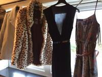 Coats and dresses
