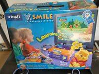 Vtech V.SMILE TV Learning System With 2 Controller + 6 Games