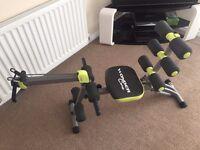 WonderCore II Multigym Core Fitness Machine