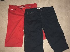 Hugo Boss Blue and Red Boys long shorts