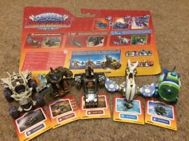 Skylanders Superchargers Characters for use with Nintendo Wii.