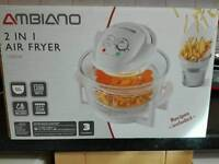 Ambiano 2 in 1 Air Fryer 1300w