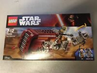 Lego 75099 - Star Wars Reys Speeder - Brand New in the Box and Sealed