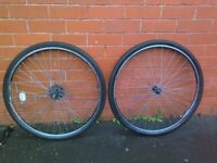 Hybrid Classic Road Bike Front and Rear double wheels - full complete