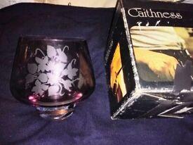 Caithness Glass Rose Bowl