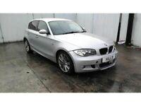 2009 BMW 1 SERIES 118D M SPORT 1995cc TURBO Diesel 6 Manual Breaking for Parts (AC97)