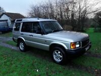 Land Rover Discovery 2 2.5 TD5 S 5dr Long MOT Great Runner Good Chassis