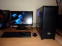 Super fast good Spec Gaming PC - i5 3570K, 8GB DDR3, Asus HD 7870, 1TB HDD - Windows 10
