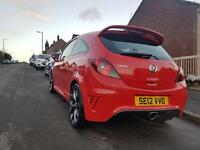 2012 Vauxhall Corsa vxr 1.6 turbo in flame red, 3dr