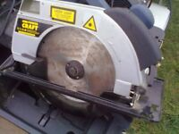 MAKITA mitre saw 255mm £50 CAN BE SEEN WORKING (Sherwood Nottingham)