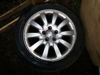 jaguar xtype alloy wheels and tyres