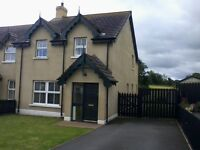 HOUSE TO LET. St PATRICK'S VIEW, DOWNPATRICK.