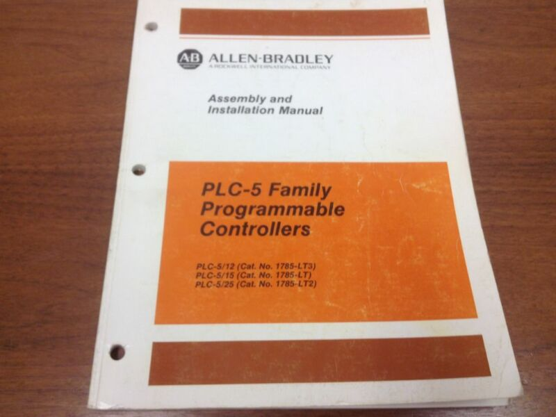 Allen-Bradley - Assembly and Installation Manual - PLC-5 Programmable Controller