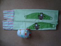 Next Jungle Brights baby curtains and lampshade