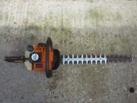 Stihl petrol heavy duty hedge cutter