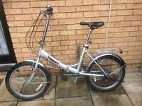 FOLDING BIKE TIGER IN EXCELLENT CONDITION AND READY TO RIDE AWAY