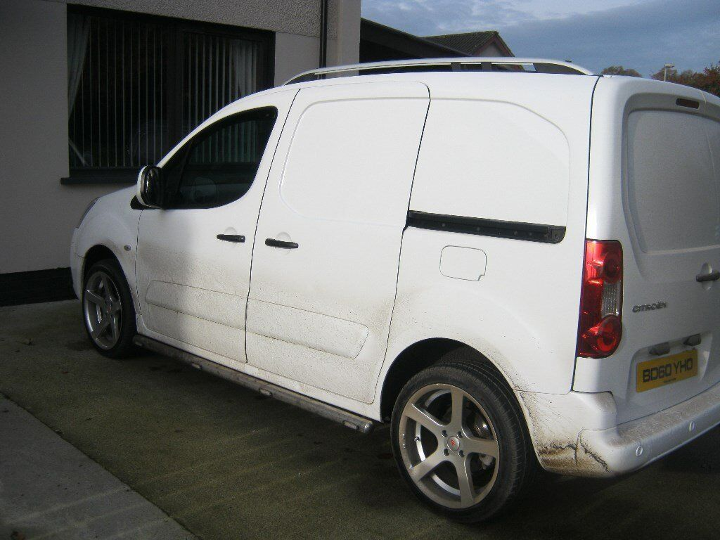 have this like new berlingo 17/12/2010 NO VAT new 18 inch alloys