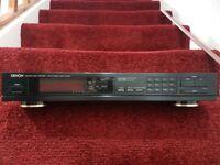 Denon tu 550 L precision audio stereo tuner