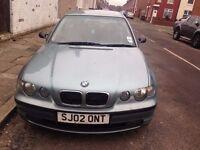 BMW 316TI COMPACT 2002 £795