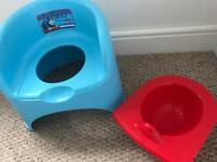 Thomas potty chair and stool