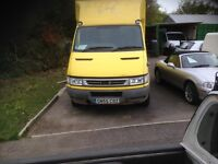 IVECO DAILY 35C12 BOX VAN MWB 2005. 1 OWNER FROM NEW TAIL LIFT no vat