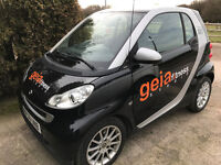 SMART CAR FORTWO Passion 71 Auto Coupe Petrol. 12months TAX + 11months MOT. LOW Mileage.