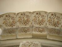 4 seater sofa 2 arm chairs non smoker animal free home good condition collection only