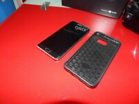 samsung s6 edge plus 64gb on ee with case and charger