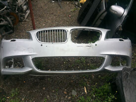bmw f10 msport 5 series front bumper skin for sale silver call thanks