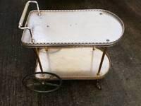 Vintage tea trolley