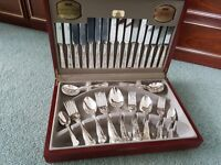 canteen of silver cutlery.